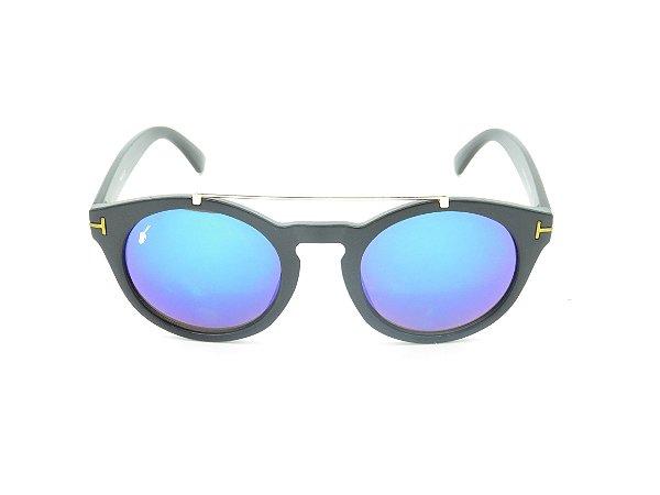 Óculos de Sol Prorider Preto com Lente Espelhada Colors - 4992