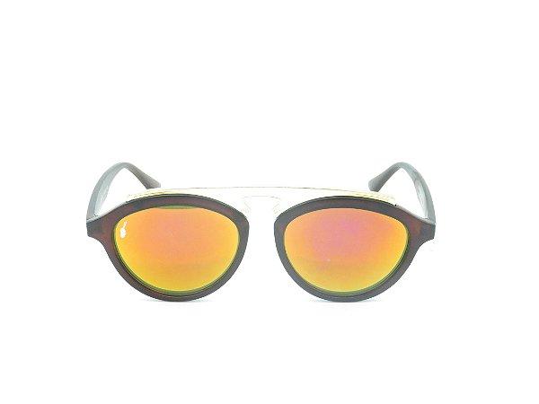 Óculos Solar Prorider Marrom com Dourado - 4999