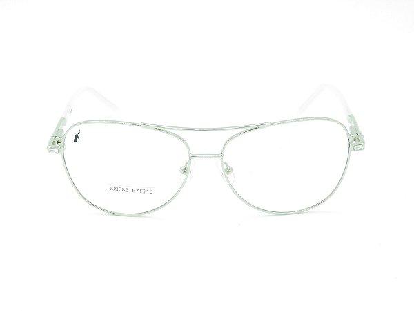 Óculos para Grau Prorider Prata Aviador - 5201