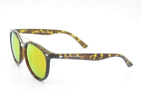 Óculos de Sol Prorider Animal Print com Lente Espelhada - 5234