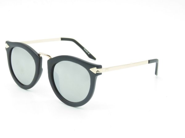 Óculos de Sol Prorider Preto Fosco com Lente Espelhada - 5256