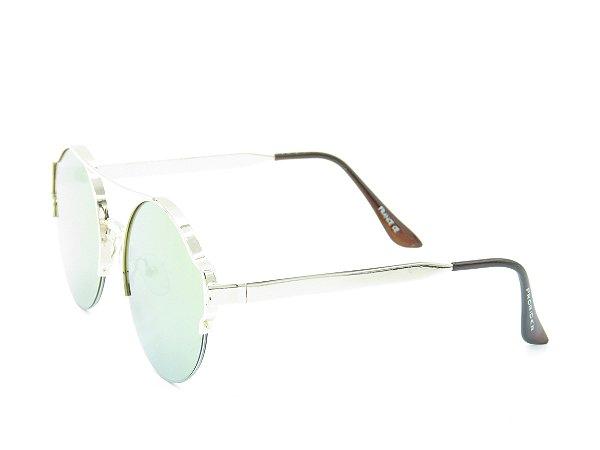 Óculos de Sol Prorider Dourado com Lente Espelhada Colors - 5273