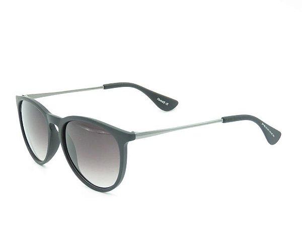 Óculos de Sol Prorider Preto Fosco com Prata - B4171