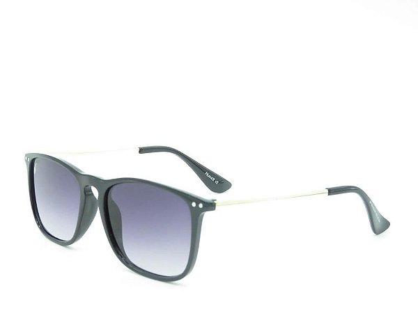 Óculos de Sol Prorider Preto Fosco com Prata - Z22-2