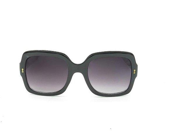 Óculos de Sol Evasolo Preto com Lente Degradê - 19846