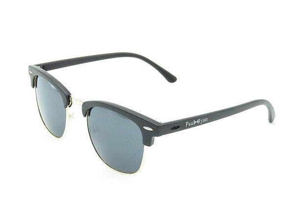 Óculos de Sol Paul Ryan Preto com Dourado - RB3016