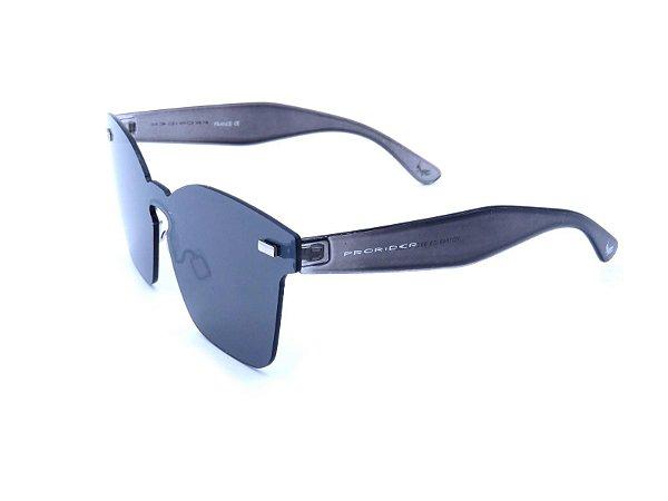 Óculos Solar Prorider Cinza Translúcido com Detalhes em Dourado - YD1749C3