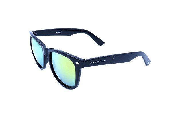 Óculos Solar Prorider Preto com Lente Espelhada Colors - YD1601C2