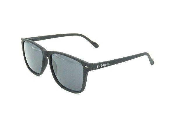 Óculos de Sol Paul Ryan Preto Fosco - YD1601C5