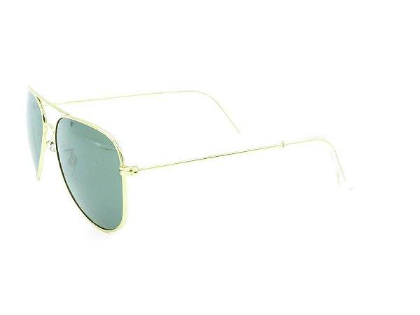 Óculos de Sol Prorider Dourado Aviador - ZAQUINTOS