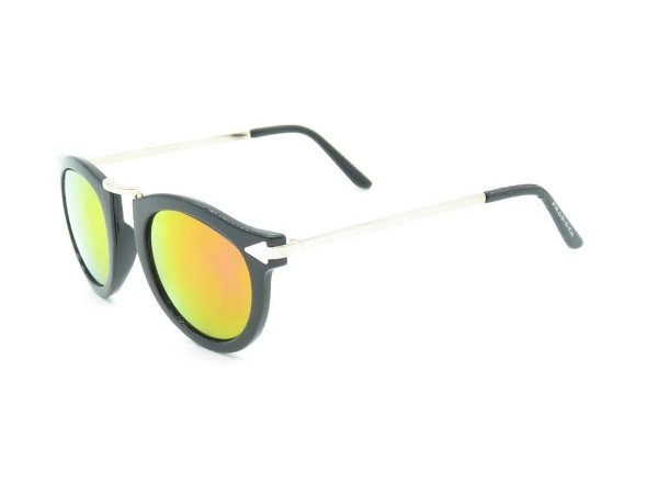 Óculos de Sol Prorider Dourado e Preto com Lente Espelhada - HP2544