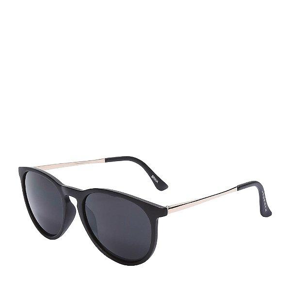 Óculos de Sol Prorider Preto Fosco e Dourado - BRINA