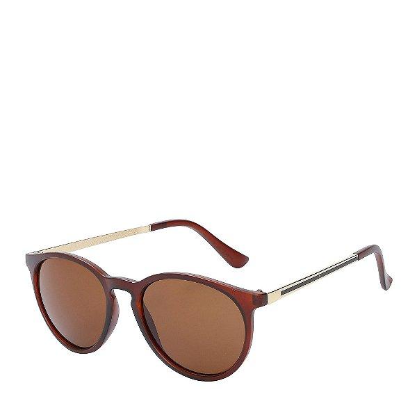 Óculos de Sol Prorider Dourado e Marrom - 19545