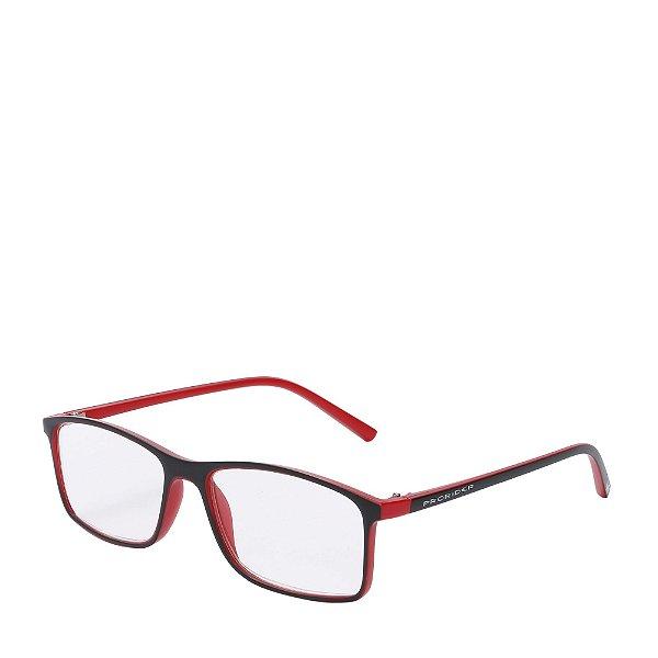 Óculos Receituário Prorider Preto e vermelho Fosco - ZF8803