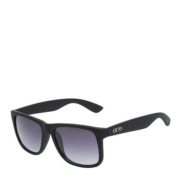 Óculos de Sol OTTO - Preto Fosco com Lente Degradê - 4165