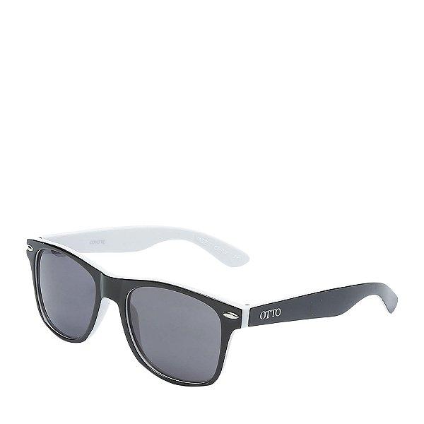 Óculos de Sol OTTO - Preto&Branco Fosco - COYOTE