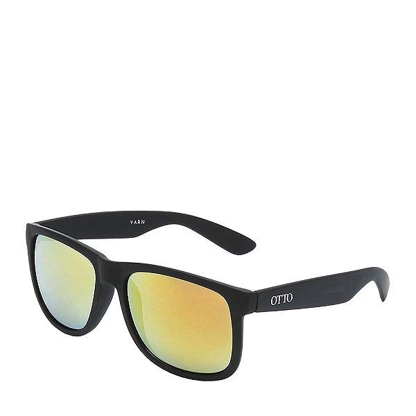 Óculos de Sol OTTO - Preto Fosco com Lente Gradiente - YARN