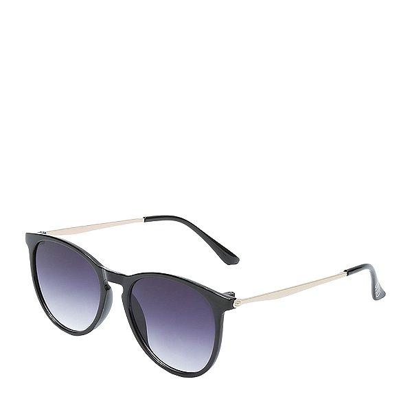 Óculos de Sol OTTO - Preto Fosco e Dourado - Z20