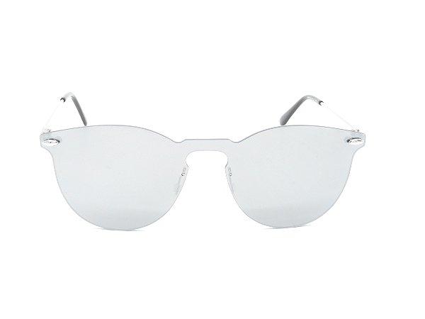 Óculos de Sol Prorider Dourado com Lente Espelhada - 7374