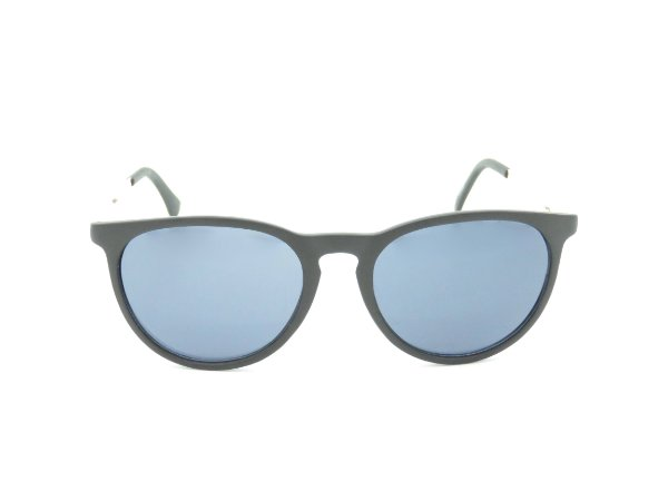 Óculos de Sol Paul Ryan Preto Fosco e Dourado - 7412