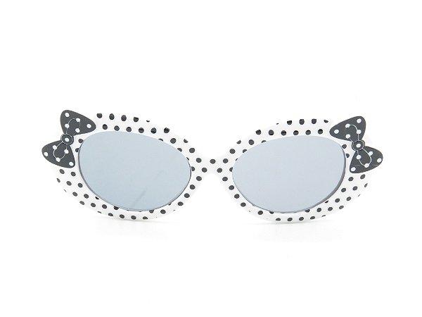 Óculos de Sol Infantil Amy loo Preto e Branco - 7418