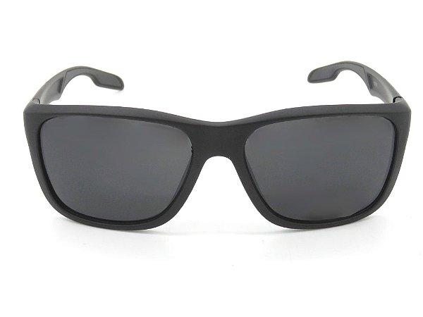 Óculos de Sol Paul Ryan Preto Fosco com Lente Fumê - 19769-2
