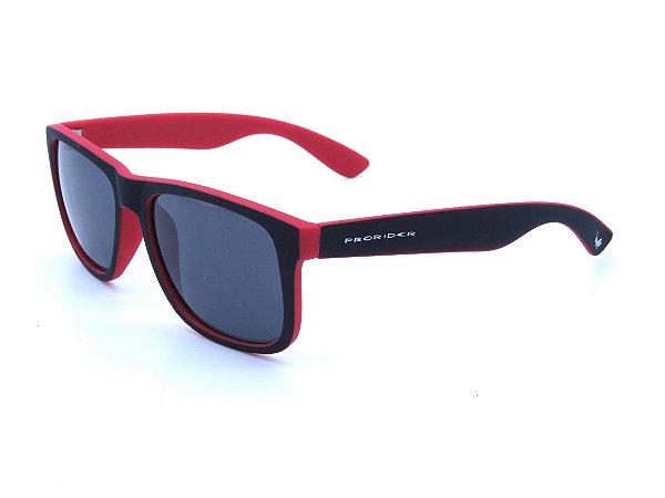 Óculos de Sol Prorider Preto e vermelho Fosco - Z4165-3