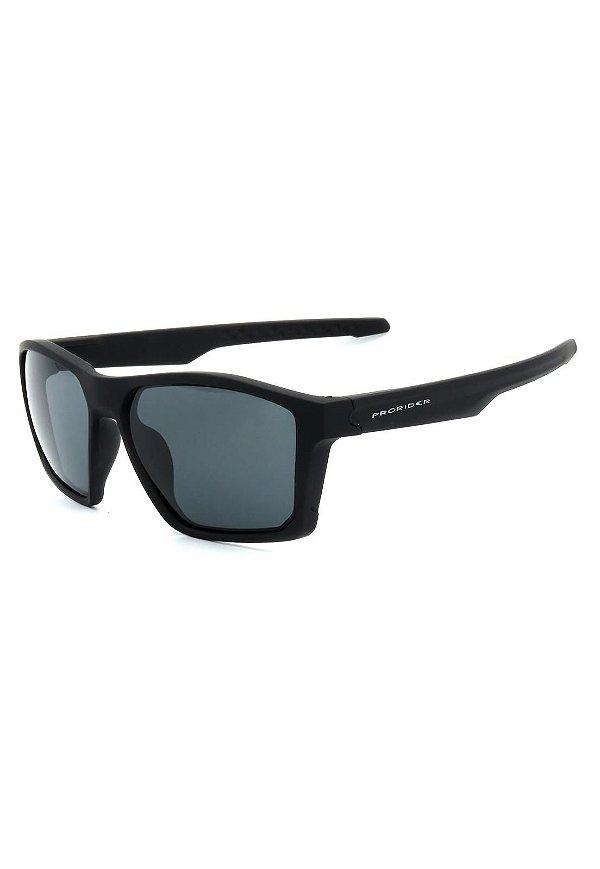 Óculos de Sol Prorider Preto Fosco com Lente Fumê - 20683
