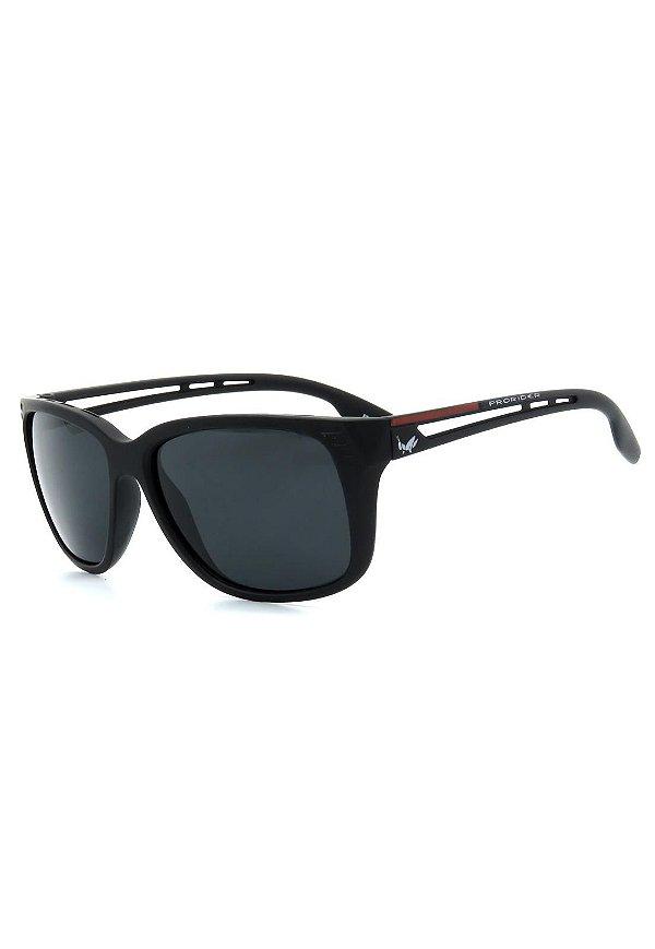 Óculos de Sol Prorider Preto Fosco com Detalhes - 20684