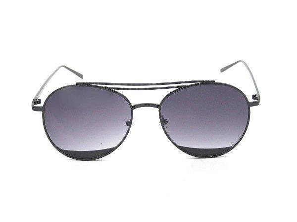 Óculos de Sol Paul Ryan Preto Fosco - BLUESKY