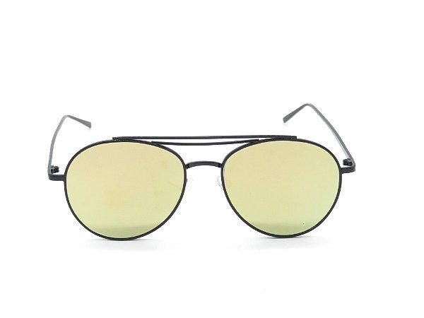 Óculos de Sol Paul Ryan Preto com Lente Verde - JAVA