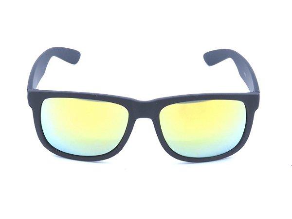 Óculos Prorider Preto Fosco com Lente Espelhada Colors - 4165-2