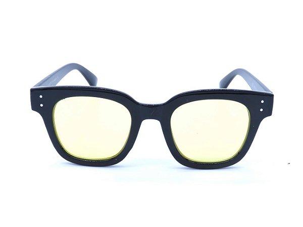 Óculos de Sol Prorider Preto com Lente Amarela - CJH72027C4