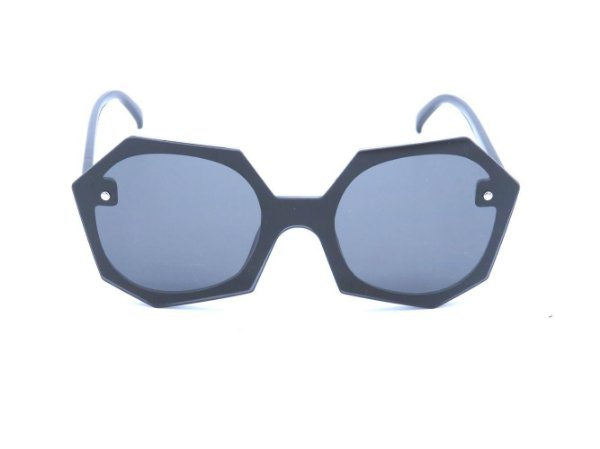 Óculos de Sol Bad Rose Preto - JQ7912C2
