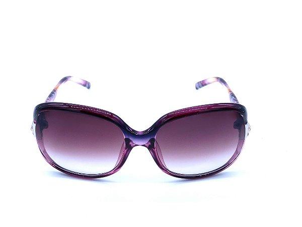 Óculos de Sol Prorider Roxo com Haste e Lente Degradê