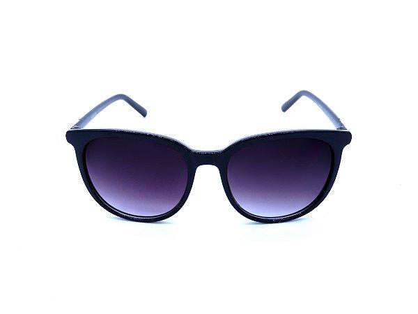 Óculos de Sol Prorider Preto com Detalhe Prata na Haste - 20647