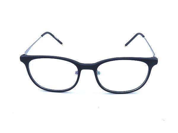 Óculos de Grau Prorider Preto e Cinza Escuro Fosco - ADELAR