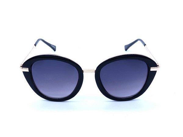 Óculos de Sol Prorider Preto com Dourado e Lente Degradê - CAYMAN