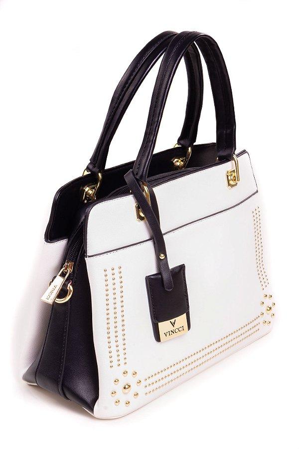 Bolsa Paul Ryan Fashion Air Preto e Branco
