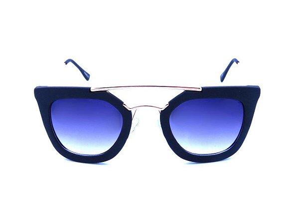 Óculos de Sol Prorider Preto Fosco com Dourado - GP224
