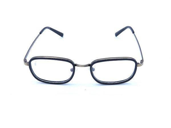 Óculos Receituário Prorider Preto com Dourado - H0052C2Y
