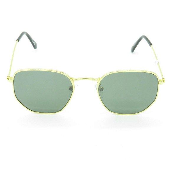 Óculos de Sol Prorider Dourado Poligonal - 17-3