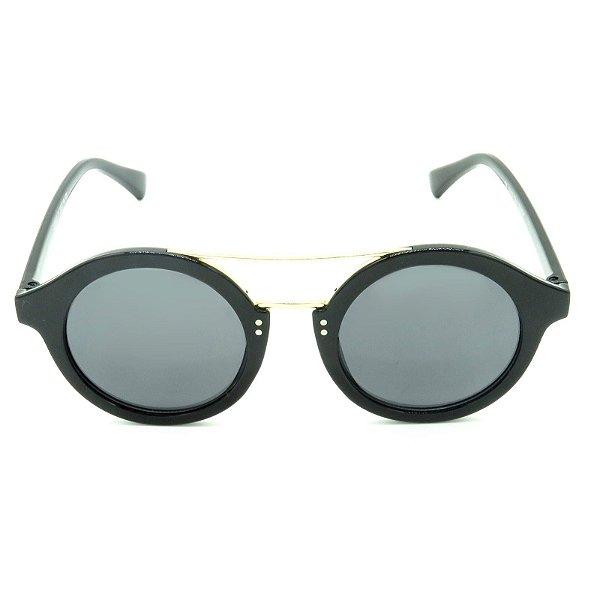 Óculos de Sol Prorider Preto e Dourado - CJ6105C1