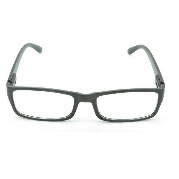 Óculos Receituário Prorider Preto Fosco Retangular - SG833
