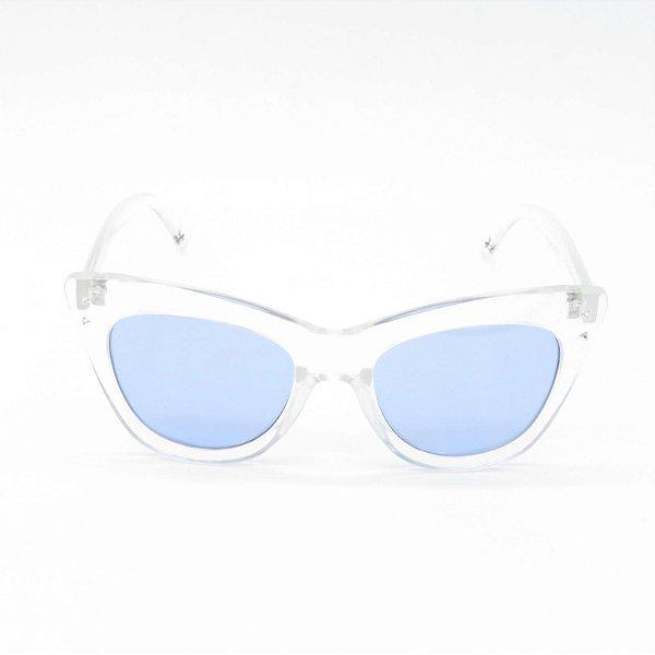 Óculos de Sol Prorider Translúcido com Lente Azul - YD1829C5