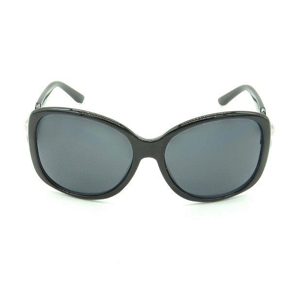 Óculos de Sol Prorider Preto com Detalhe Prata - HX6918-1