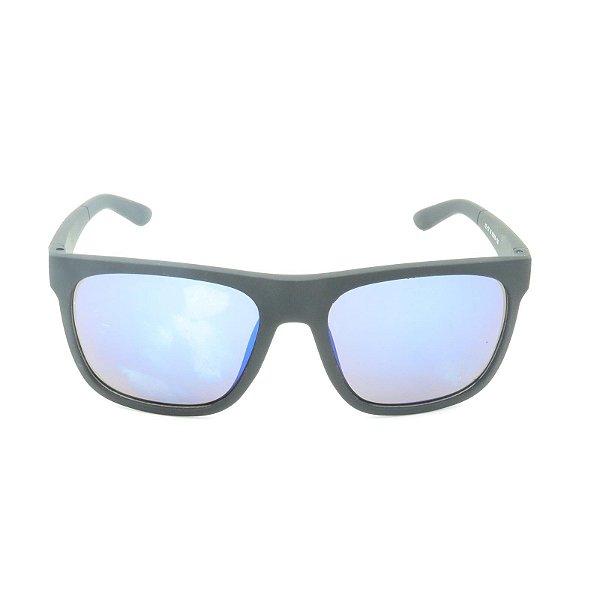 Óculos de Sol Prorider Preto Fosco com Lente Espelhada Colors - XZ-57