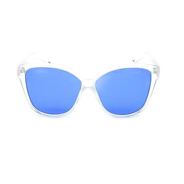 Óculos de Sol Prorider Translúcido com Lente Azul - YD1792C4