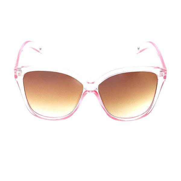 Óculos de Sol  Prorider Translúcido Rosado com Lente Marrom - YD1792C3