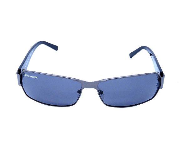 Óculos Solar Polo Walker Preto com Grafite - MT6133